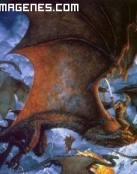 Dragón hostil
