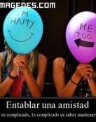 Comparte tu felicidad con los amigos