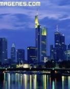 Frankfurt de noche