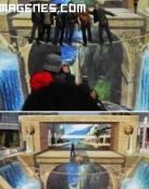 Genial ilusión óptica en 3D
