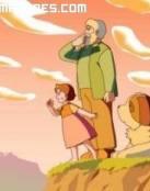 Heidi, el abuelito y Niebla
