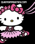 Hello Kitty bailarina