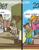¡Lo que ha cambiado el colegio!