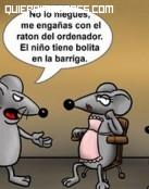 Humor entre ratones
