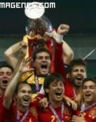 La Roja ganadora de la Eurocopa 2012