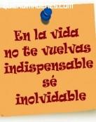 Sé inolvidable