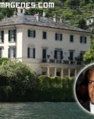 Imagen de la casa de George Clooney en Como