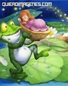 La rana y el bebé