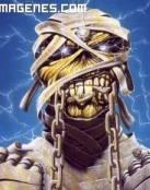 La momia de Iron Maiden