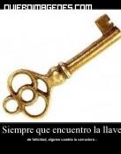 La llave y la cerradura