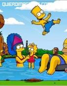 Imagen de los Simpsons en vacaciones