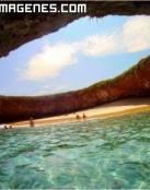 Maravilla de la naturaleza, Playa Escondida