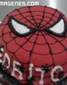 Tarta de cumpleaños de Spiderman