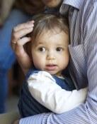 Un abrazo de bebé