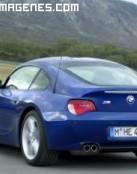 Parte trasera de un BMW deportivo