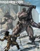 Conan contra 2 gigantes