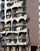 Edificio de apartamentos especial
