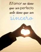 Amor sincero