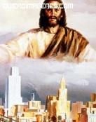 Dios protegiendo el mundo