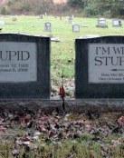 Lápidas con mensaje