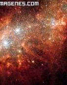 Una gigantesca galaxia