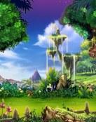 Un precioso bosque fantástico