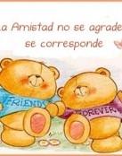 La amistad no se agradece