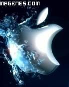 Apple Aqua, imagen de logotipo original