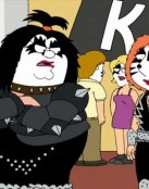 Lois y Peter Griffin rockeros