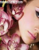 Belleza entre orquideas