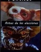 Políticos antes y después de las elecciones