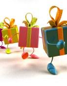 Los regalos tienen patas