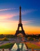 Torre Eiffel al atardecer