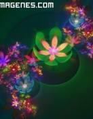 Hermoso adorno de flores