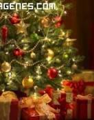 Imagen de un árbol con regalos