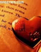 Un libro de amor y mi corazón