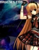 Chica anime gótica
