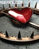 Imagen de un corazon traicionero