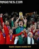 España, campeona mundial