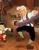 Fotos de Pinocho y Gepetto
