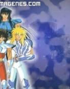 Cinco guerreros anime