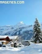 Ha llegado la nieve a las montañas