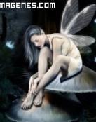 Hada con alas