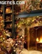 Imagen de un hogar navideño