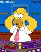 Homer Trabajando