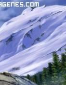 Imagen de monte nevado
