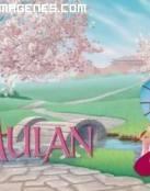 Mulan y su sombrilla