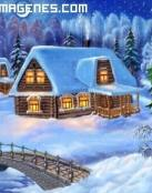 Paisaje de Navidad