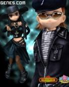 Personajes Goticos 3D