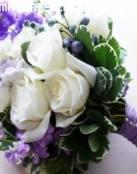 Ramo de rosas para una novia